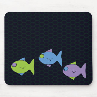 Three Little Fish Mouse Pad
