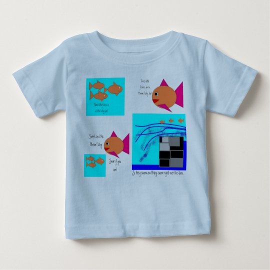 Three Little Fishes Baby T-Shirt