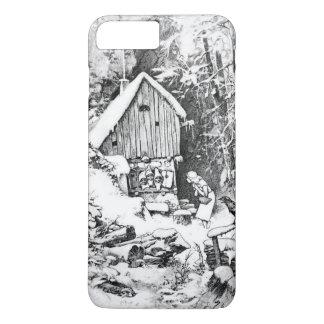 Three Little Men vintage art iPhone 7 Plus Case