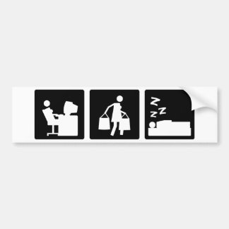 Three Little Pics - Women 3 Bumper Sticker