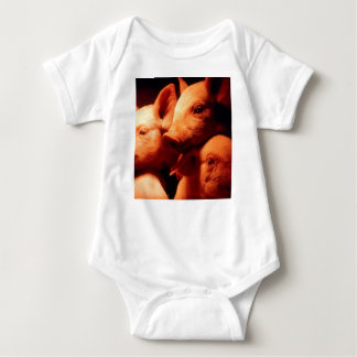 Three Little Pigs Baby Bodysuit