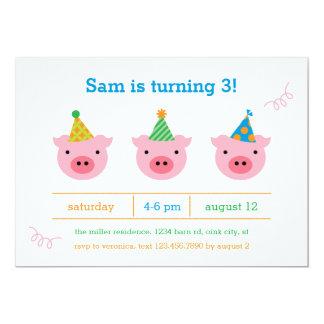 Three Little Pigs Card
