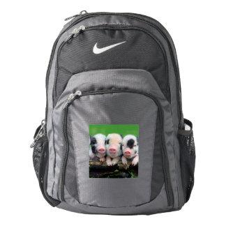 Three little pigs - cute pig - three pigs backpack