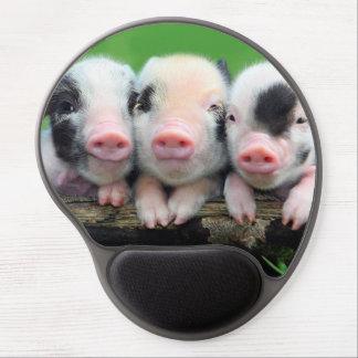Three little pigs - cute pig - three pigs gel mouse pad