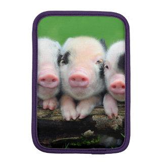 Three little pigs - cute pig - three pigs iPad mini sleeves