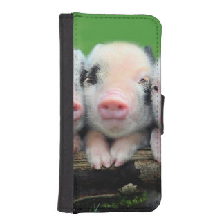Three little pigs - cute pig - three pigs iPhone SE/5/5s wallet case