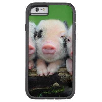 Three little pigs - cute pig - three pigs tough xtreme iPhone 6 case