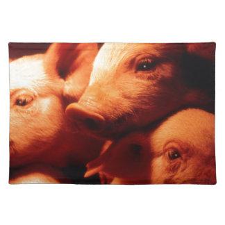 Three Little Pigs Place Mats