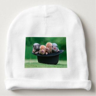Three little pigs - three pigs - pig hat baby beanie