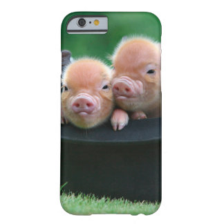 Three little pigs - three pigs - pig hat barely there iPhone 6 case
