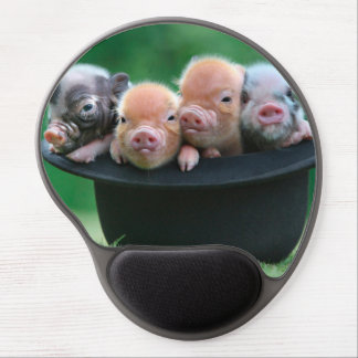 Three little pigs - three pigs - pig hat gel mouse pad