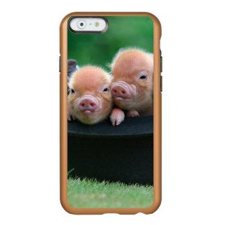 Three little pigs - three pigs - pig hat incipio feather® shine iPhone 6 case
