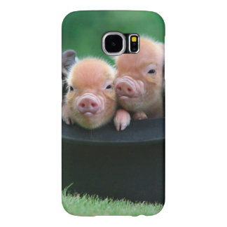 Three little pigs - three pigs - pig hat samsung galaxy s6 cases