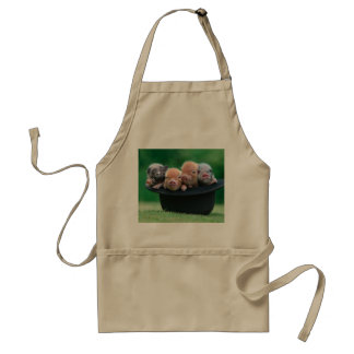 Three little pigs - three pigs - pig hat standard apron