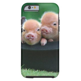 Three little pigs - three pigs - pig hat tough iPhone 6 case