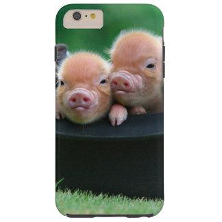 Three little pigs - three pigs - pig hat tough iPhone 6 plus case