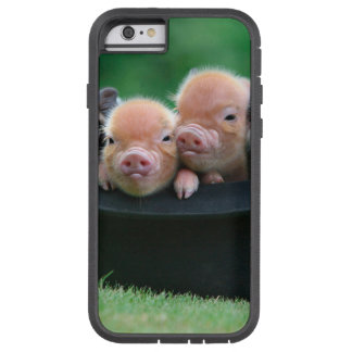 Three little pigs - three pigs - pig hat tough xtreme iPhone 6 case