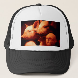 Three Little Pigs Trucker Hat