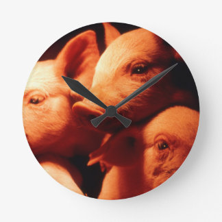 Three Little Pigs Wall Clock
