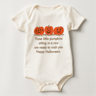 Three little pumpkins Happy Halloween shirt