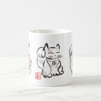 Three Lucky Cats Cup