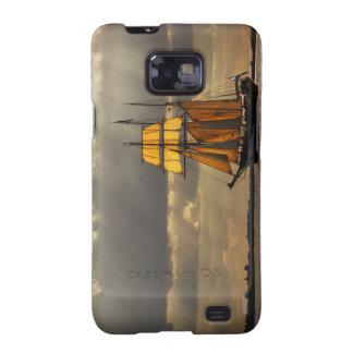 Three-master Galaxy S2 Case