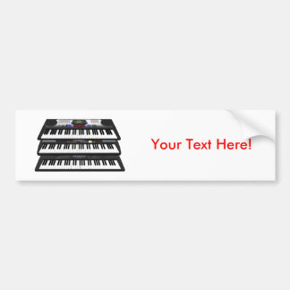 Three Modern Keyboards: Synthesizers: Bumper Sticker
