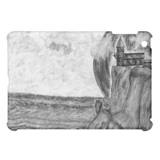 Three Moons A Day at The Beach.Pencil Drawing Cover For The iPad Mini