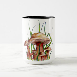Three Mushrooms Hot Mug