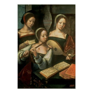 Three Musicians Posters