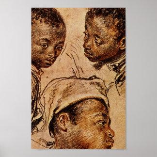 Three Negro Boys Poster