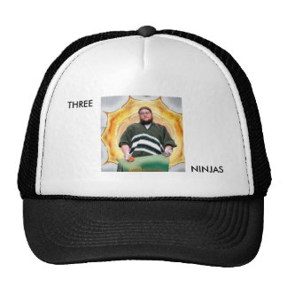 Three Ninjas Trucker Hat