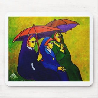 Three Nuns by piliero Mouse Pad