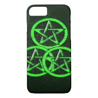 Three of Pentacles Tarot Card iPhone 7 Case