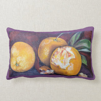 Three Oranges on a Pillow