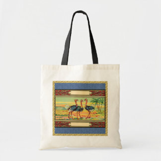 Three Ostritch Birds Tote Bag