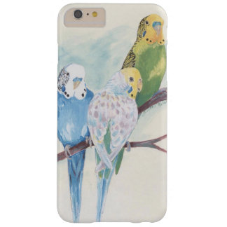 Three Parakeets Barely There iPhone 6 Plus Case