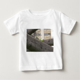Three Parrots on a tree Baby T-Shirt
