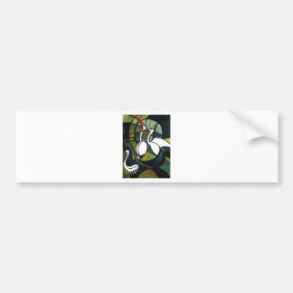 three Patos_result.JPG Bumper Sticker
