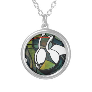 three Patos_result.JPG Silver Plated Necklace