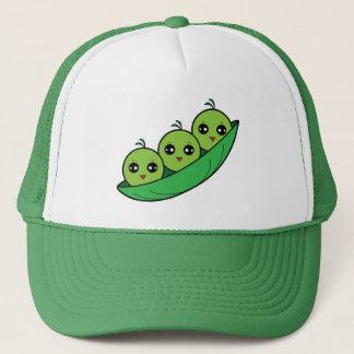 Three Peas in a Pod Trucker Hat