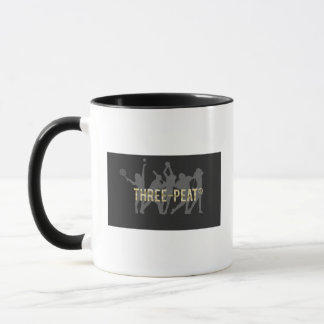 Three-Peat lefty mug