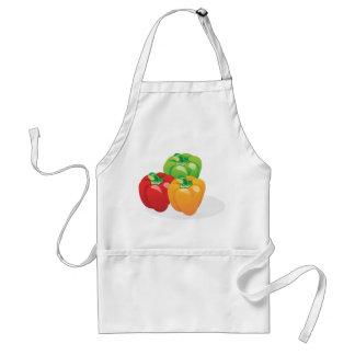 Three pepper color clash standard apron
