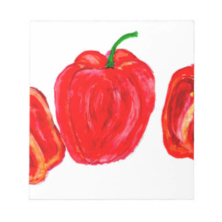 Three Peppers Art Notepad