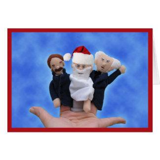 Three Philosophers Christmas Cards