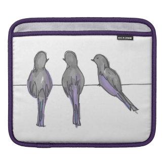 Three Pigeon Pals iPad Cover iPad Sleeves