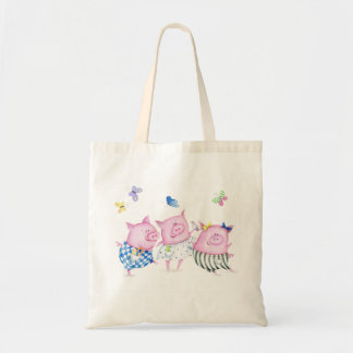 Three Piggies Tote Bag