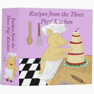 Three Pigs Recipe Binder