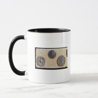 Three pilgrimage plaques of St. Jean d'Amiens Mug