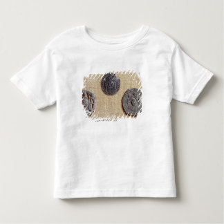 Three pilgrimage plaques of St. Jean d'Amiens Toddler T-shirt